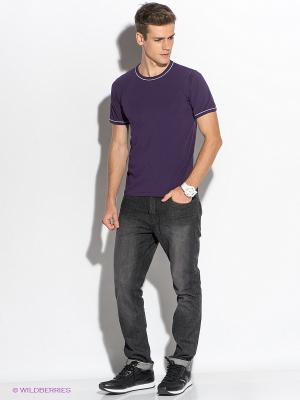 Футболка D.S. Цвет: фиолетовый