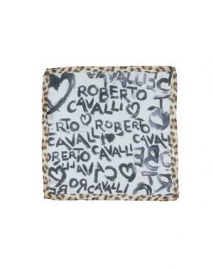 Платок ROBERTO CAVALLI. Цвет: светло-серый