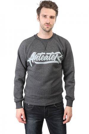 Толстовка свитшот  Crewneck-makeone Grey Anteater. Цвет: серый