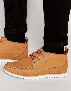 Boxfresh Ботинки чукка Clyston. Цвет: рыжий