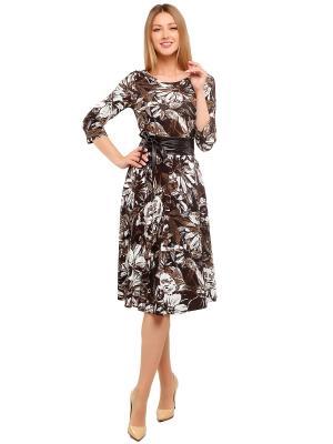 Платье с поясом GiuliaRossi