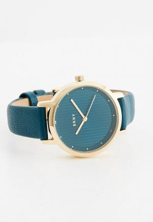 Часы DKNY. Цвет: синий