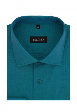 Рубашка Berthier. Цвет: бирюзовый