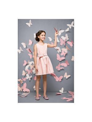 Платье пышное розовый персик Gioia di Mamma
