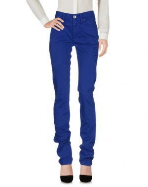 Повседневные брюки NOLITA DE NIMES. Цвет: синий