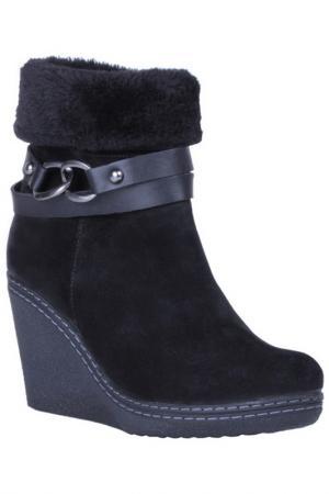 Ботинки INCI. Цвет: черный