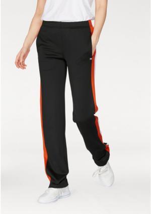 Спортивные брюки Kangaroos. Цвет: черный/оранжевый/белый