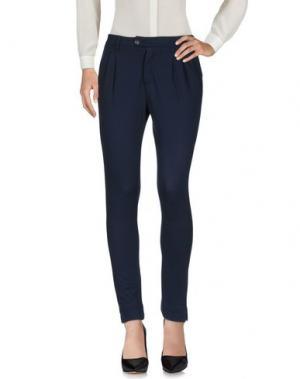 Повседневные брюки AIGUILLE NOIRE by PEUTEREY. Цвет: темно-синий