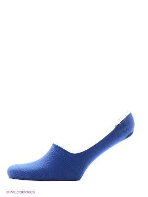 Носки женские, следки Хох. Цвет: лазурный