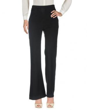 Повседневные брюки ENZA COSTA. Цвет: темно-синий