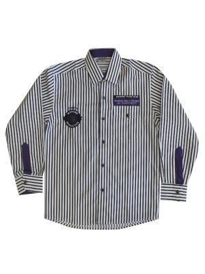Рубашка MARIONS. Цвет: черный, белый