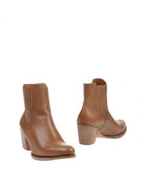 Полусапоги и высокие ботинки GUGLIELMO ROTTA. Цвет: светло-коричневый