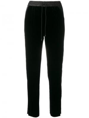 Классические брюки с завышенной талией Elizabeth And James. Цвет: чёрный