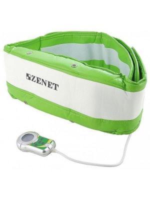 Пояс массажный TL-2005L-B ZENET. Цвет: светло-зеленый