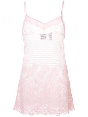 Сетчатая комбинация Fenty X Puma. Цвет: розовый и фиолетовый