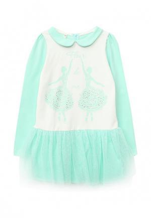 Платье Fleur de Vie. Цвет: бирюзовый