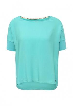 Блуза Frank NY. Цвет: бирюзовый