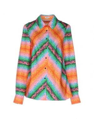 Pубашка MANOUSH. Цвет: оранжевый