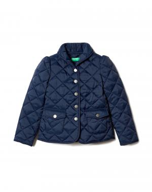Куртка Benetton. Цвет: синий