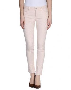 Повседневные брюки REIKO. Цвет: светло-розовый