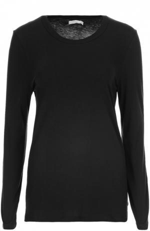 Пуловер джерси 6397. Цвет: черный