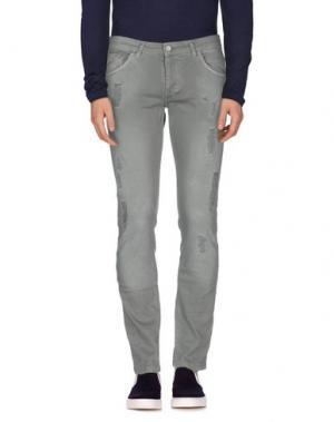 Джинсовые брюки ENTRE AMIS. Цвет: зеленый-милитари