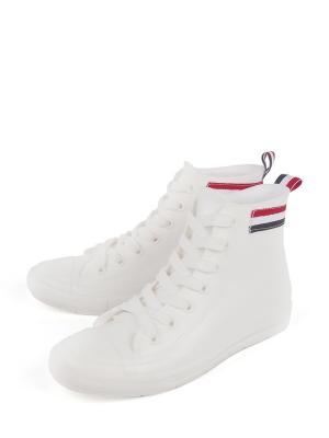 Резиновые сапоги TF. Цвет: белый
