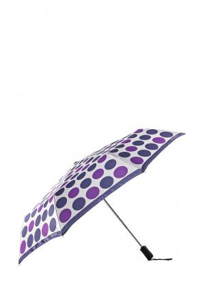 Зонт складной Eleganzza. Цвет: фиолетовый