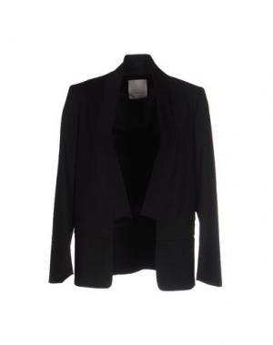 Пиджак GOLD CASE. Цвет: черный
