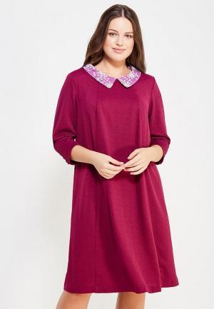 Платье Silver String. Цвет: розовый