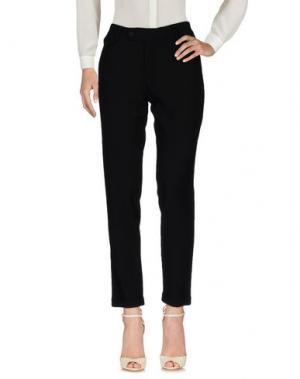 Повседневные брюки TRUE TRADITION. Цвет: черный