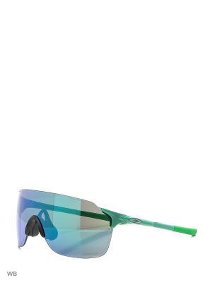 Очки солнцезащитные OAKLEY. Цвет: зеленый
