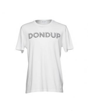 Футболка DONDUP. Цвет: белый