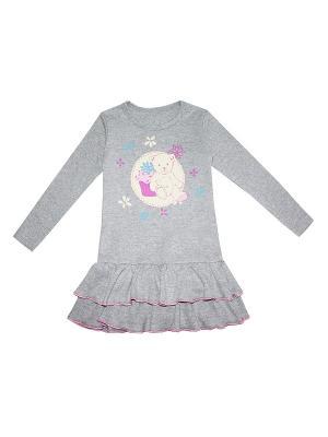 Платье КОТМАРКОТ. Цвет: серый