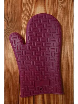 Варежка-прихватка силиконовая термостойкая, GL-081 Vetta. Цвет: фиолетовый