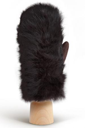 Варежки Eleganzza. Цвет: темно-коричневый