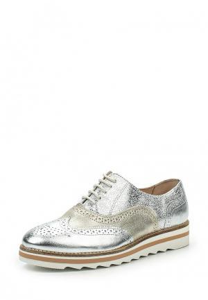 Ботинки El Tempo. Цвет: серебряный