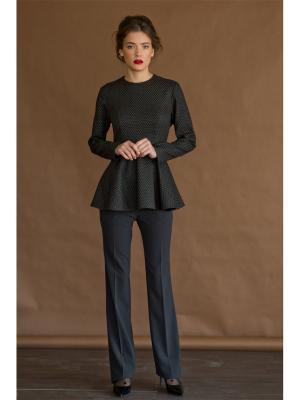 Блузка Tsurpal. Цвет: черный, серый