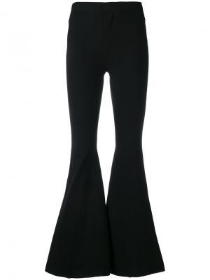 Расклешенные брюки Givenchy. Цвет: чёрный