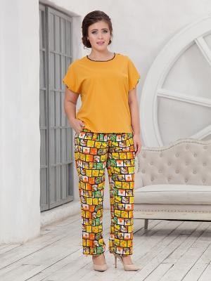 Комплект одежды CLEO. Цвет: желтый