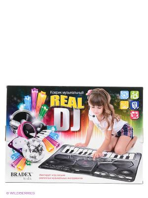 Коврик музыкальный REAL DJ BRADEX. Цвет: черный