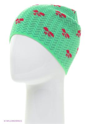 Шапка ELFRIO. Цвет: светло-зеленый
