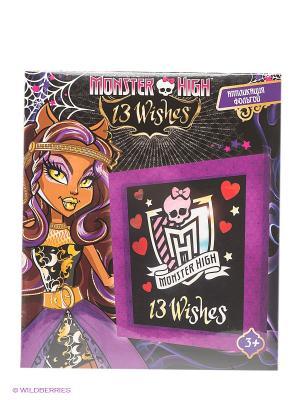 Аппликация фольгой Monster High Centrum. Цвет: черный, фиолетовый