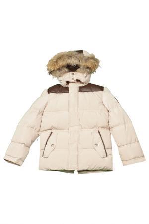 Куртка Arctic Goose. Цвет: бежевый