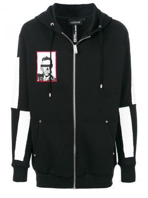 Куртка-бомбер на молнии Icosae. Цвет: чёрный
