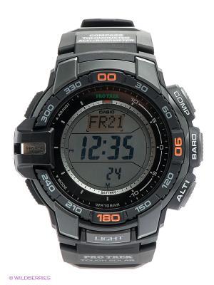 Часы PRO TREK PRG-270-1E CASIO. Цвет: черный