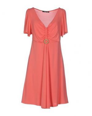 Короткое платье CRISTINAEFFE COLLECTION. Цвет: коралловый