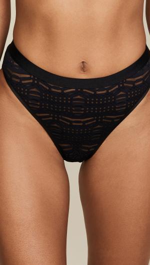 Bisou High Leg Bikini Panties Cosabella