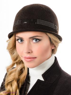 Шляпа SEEBERGER. Цвет: темно-коричневый