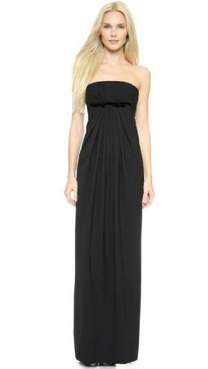 Вечернее платье Anastasia DSQUARED2. Цвет: голубой